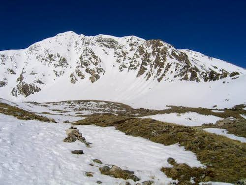 Torreys Peak from near the...