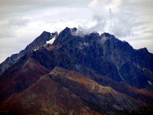 Mont Velan shady S-SW (left) & S-SE Faces