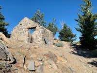 Watch Keeper Hut Ruins on Mt Islip Hike