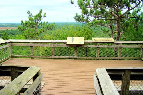 Roche-a-Cri Summit Observation Deck