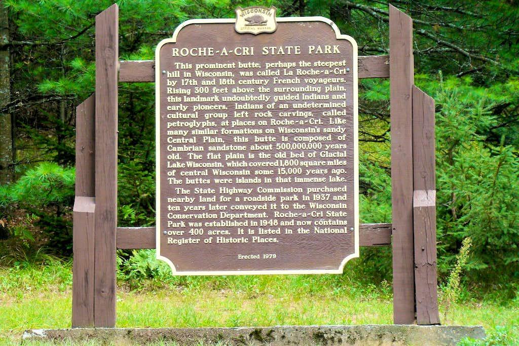 Roche-a-Cri Historical Information