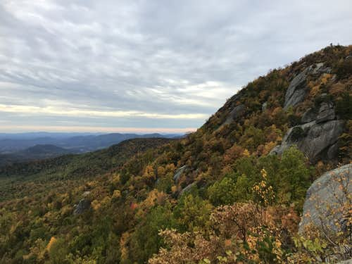 October Views of Old Rag and Shenandoah Valley Beyond