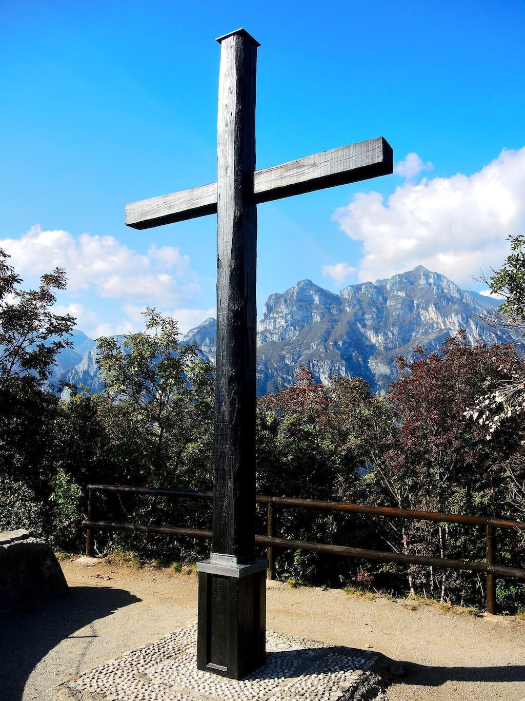 The cross of Monte Brione