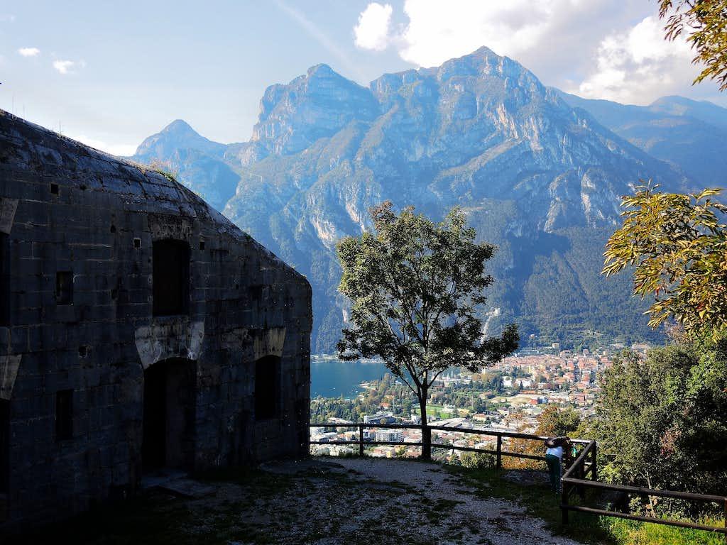 Scenery from Batteria di Mezzo, Monte Brione