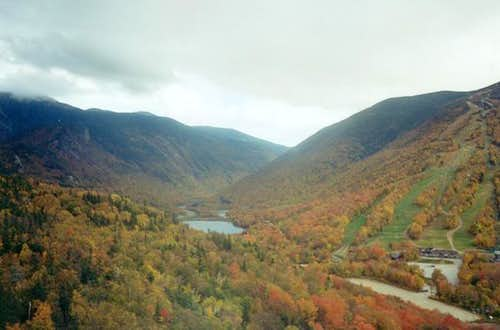Bald Mountain and Artist Bluff (Franconia Notch)