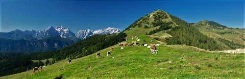 Julian Alps, Rosenkogel, Frauenkogel