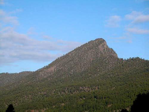 Pico Bejenado as seen from...