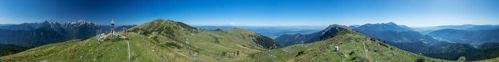 360° summit panorama Rosenkogel