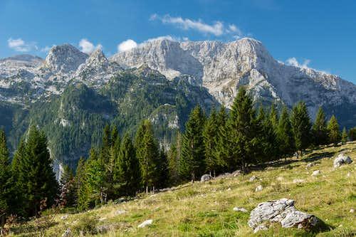 Col Sclaf, Monte Sart