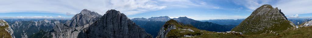 360° summit panorama Pizzo de la Viene