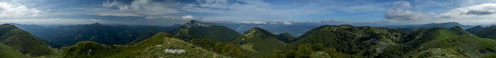 360° summit panorama Slatnik