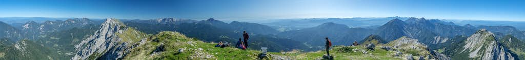 360° summit panorama Hochturm