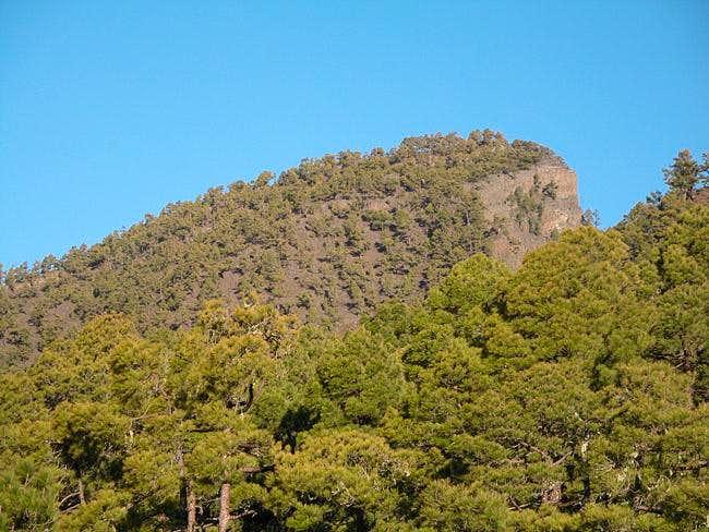 Pico Bejenado from the...