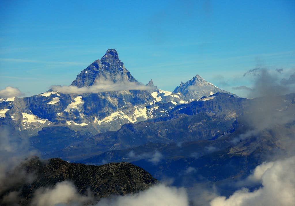 Close up of Cervino Matterhorn