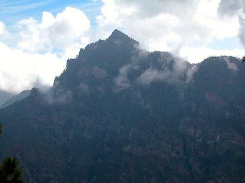 The Pico Bejenado north face...