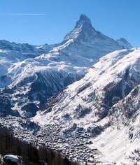 Matterhorn with Zermatt