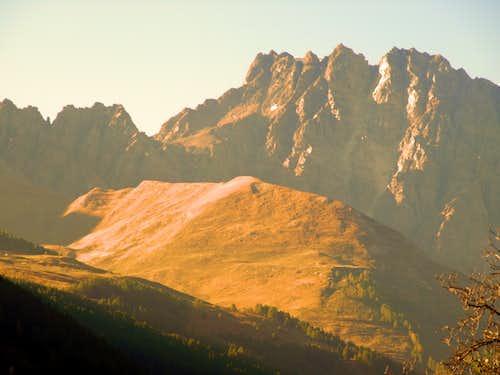 Faudery Faceballa & V'lan above Mont Riond