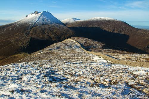 The Mournes in November snow