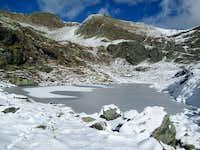 Winter tests at Vasuero Lake