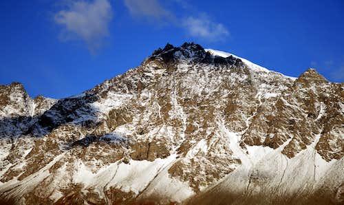 Just before the landslide on Mont Velan