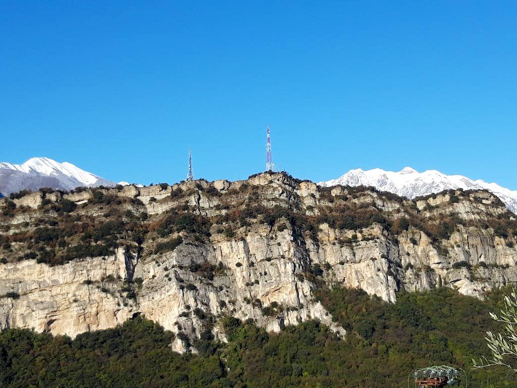 Monte Brione with Pichea Chain on background