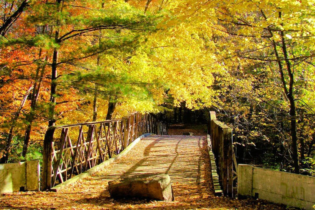 Old Bridge in Chippewa Falls