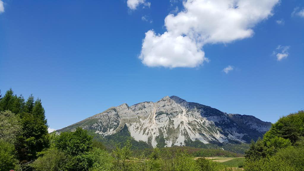 Monte Stivo Eastern view