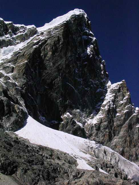 Taboche Peak from an unnamed...