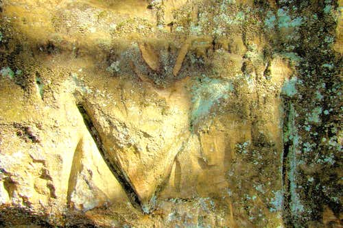 Carvings in the Sandstone