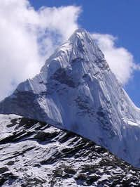 Ama Dablam from the Kangma La