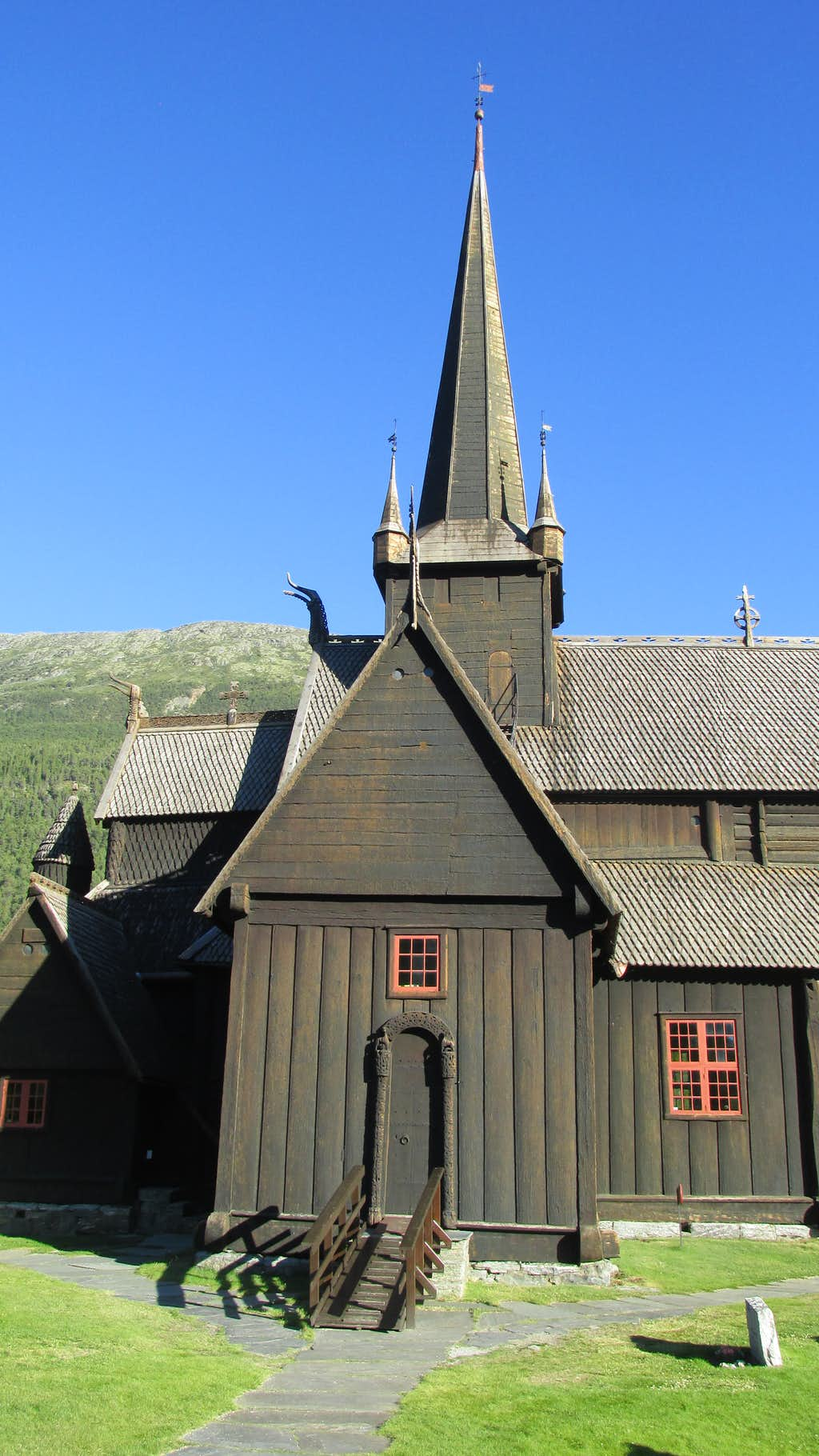 The Lom Stavkyrkje church was built approximately 900 years ago