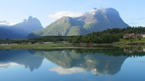 View from Andelsnes