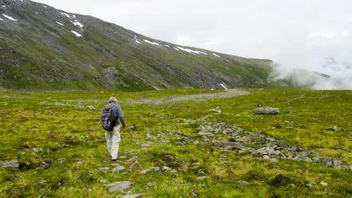 On the Lower Romsdalseggen Trail