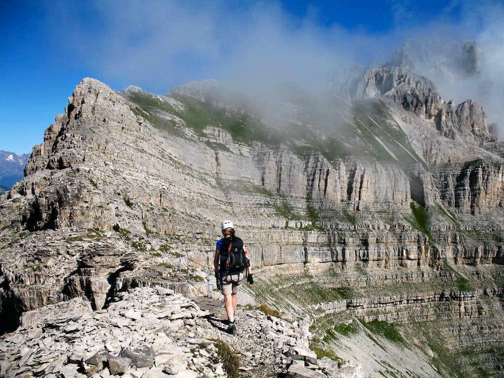Gustavo Vidi ferrata. Pietra Grande south ridge.