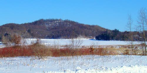 Winter on Elk Mound, Wisconsin