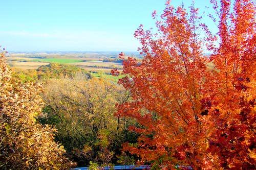 Elk Mound Summit View