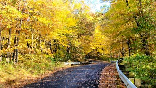 Elk Mound Road Route