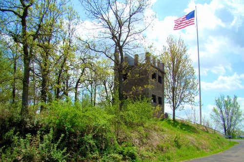 Springtime at Elk Mound Castle