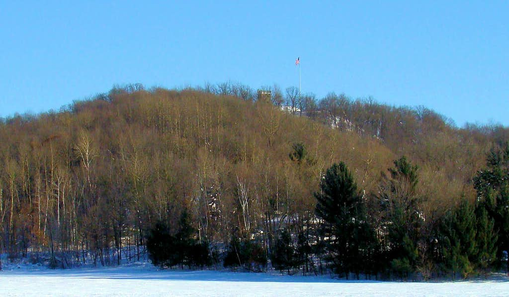 Elk Mound Castle Winter View