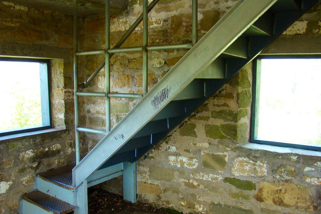 Castle's Inside Stairway