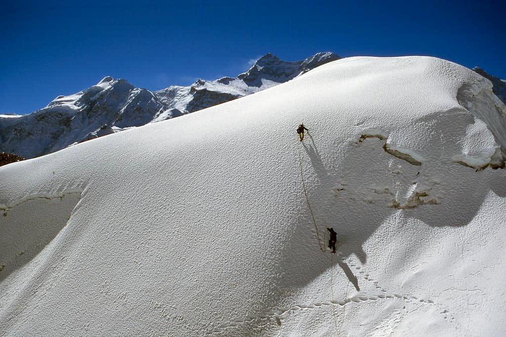 The summit of Peak 5950