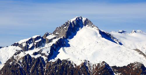 Carè Alto, the three ridges
