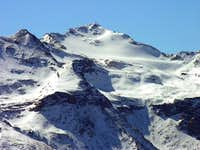Becca di Tos (3302 m) and its glacier