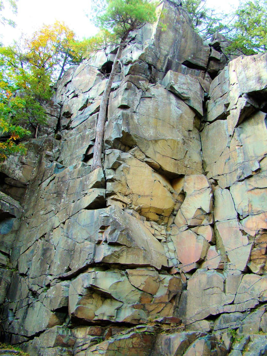 One of Many Rock Climbing Challenges
