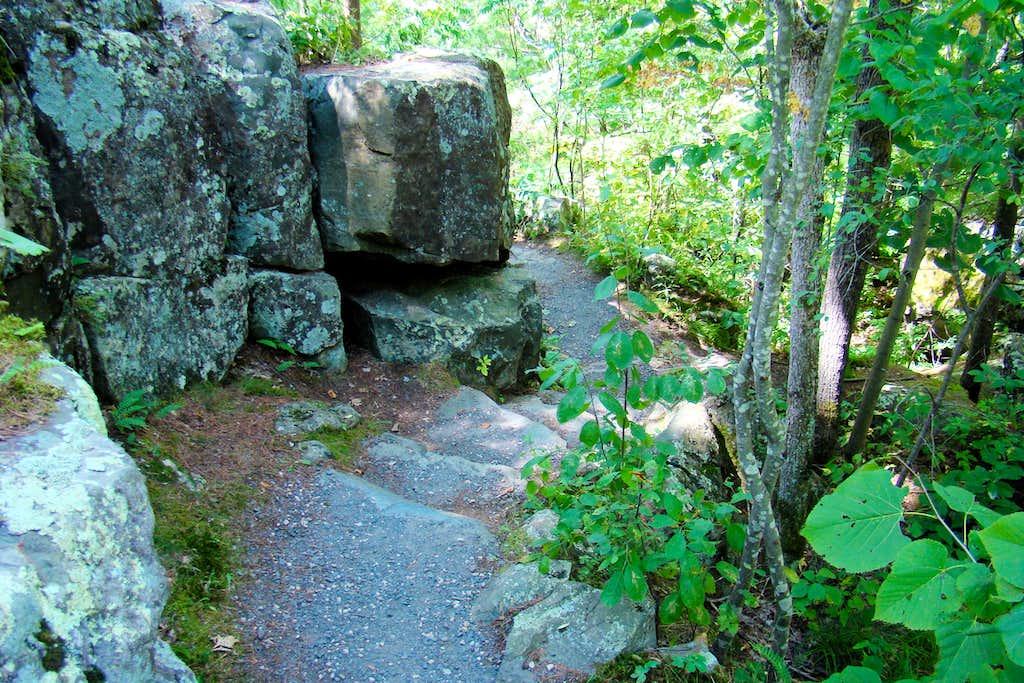 Interstate Park Stone Stairway