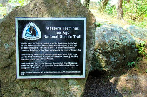 Ice Age Trail Western Terminus