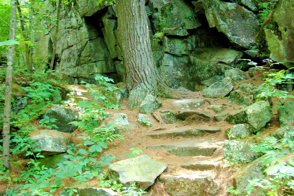 Echo Canyon Rock Stairway