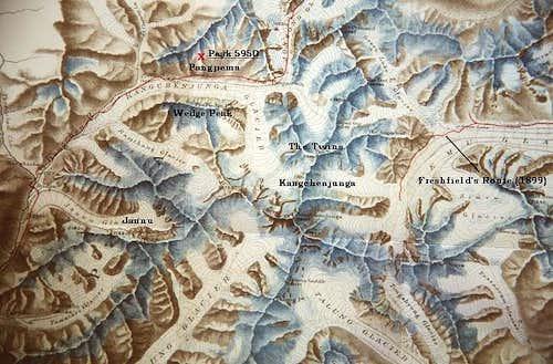 An 1899 map drawn by Garwood,...