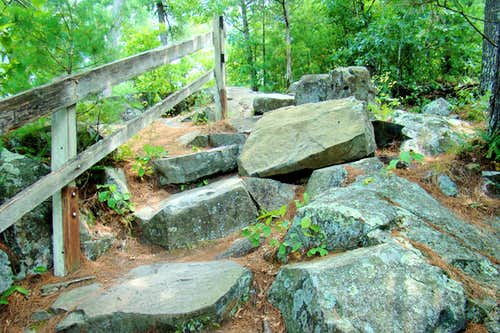 Summit Rock Trail Boulders
