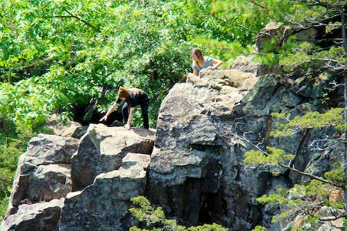 Interstate Park Rock Scramblers